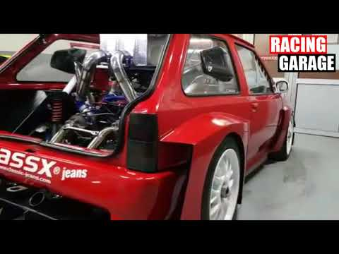 Opel Corsa RS TwinTurbo 1000Hp Test Launch Control 🚀 Owner Esad Dosljak