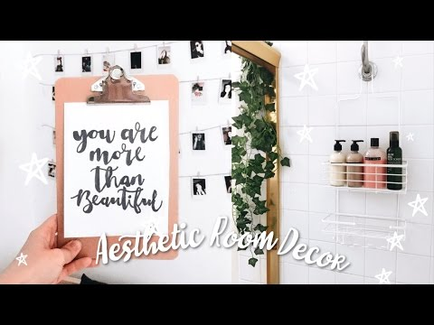DIY Quick And Easy Tumblr inspired Aesthetic Room Decor!