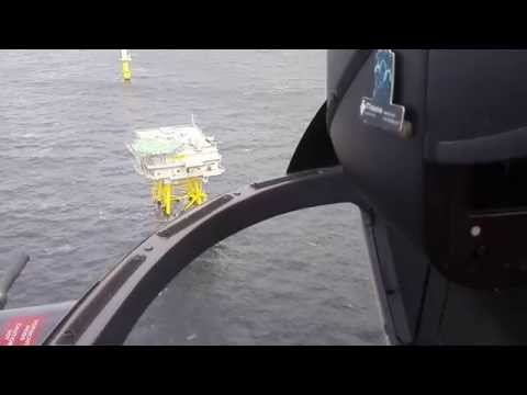 Offshore Heli.Transport -  Project Riffgat 2015