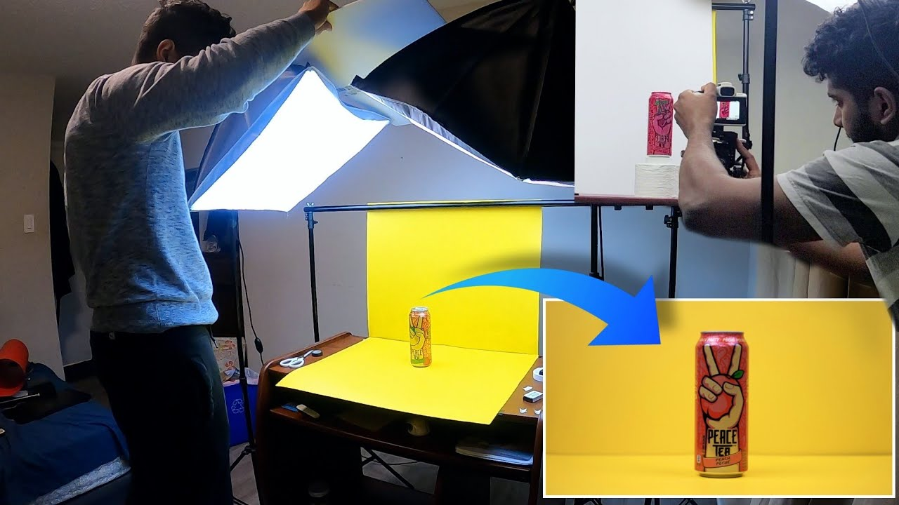 THIS IS HOW I MADE A PRODUCT COMMERCIAL FROM MY BEDROOM