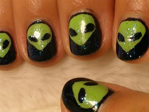 Alien Nail Art Youtube