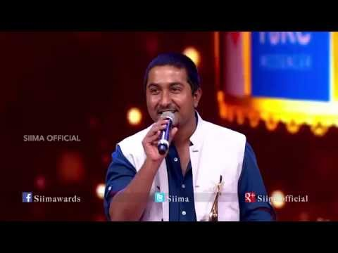 Micromax Siima 2015 | Best Playback Singer (Male) Malayalam | Vineeth Sreenivasan