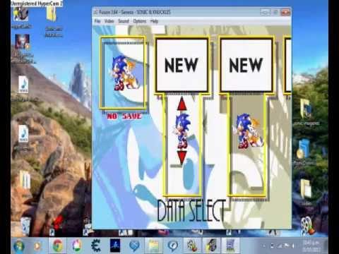 Como Descargar Juegos Del Sega Genesis Para Pc Youtube