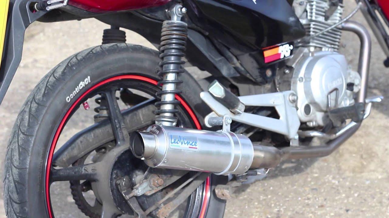 Yamaha Ybr Exhaust