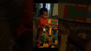 When Amari was 1 yrs old he likes listening Rihanna to and drake song work work