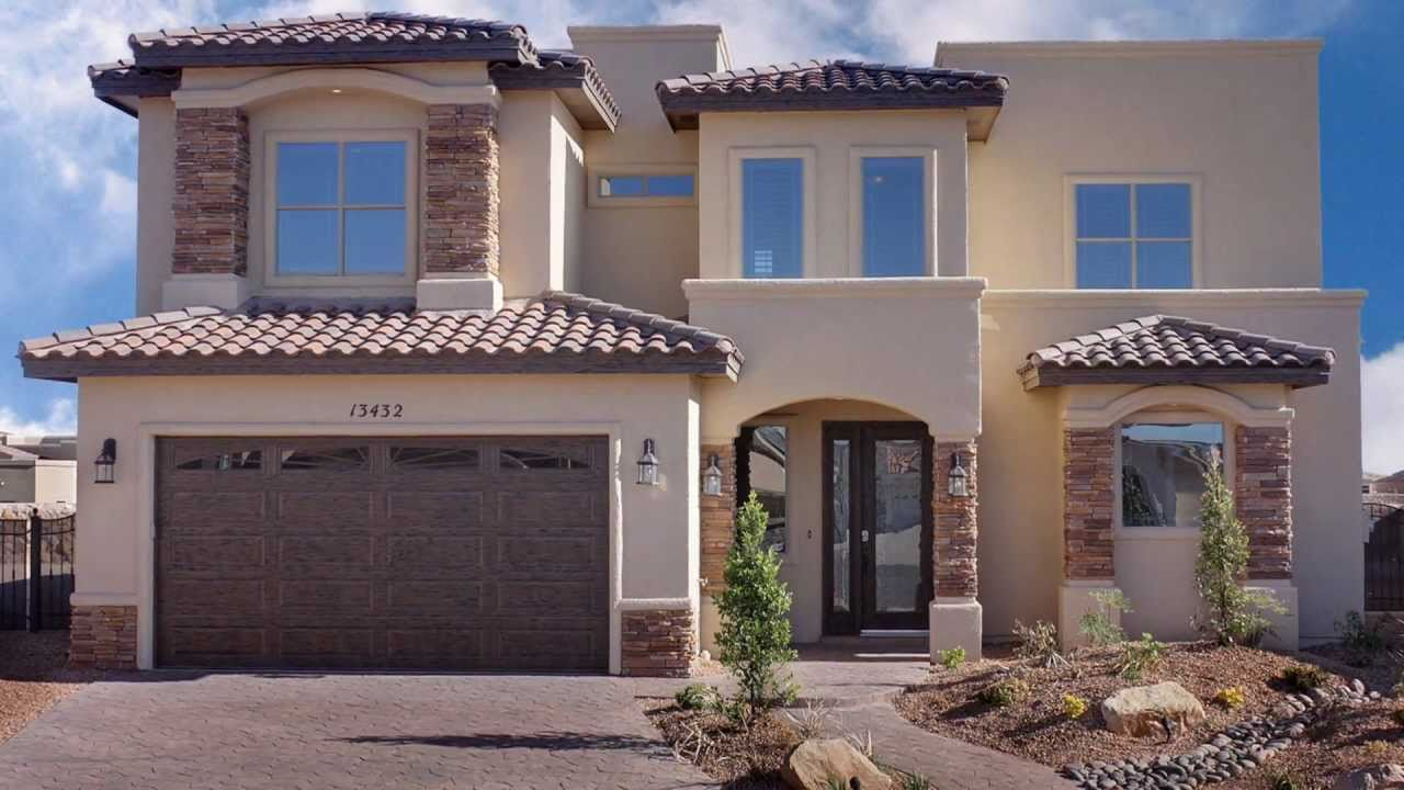 Bella vista custom home builder el paso tx youtube for Custom house builder online