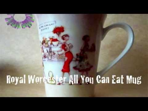 Rhome Around The World: Royal Worcester All You Can Eat Mug