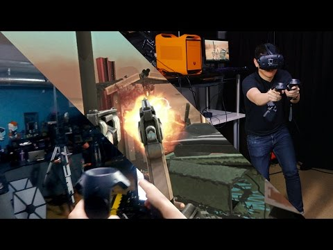 Let's Play VR: HTC Vive Demos!