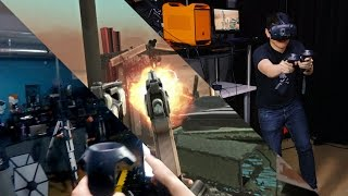 Let's Play VR: HTC Vive Demos!