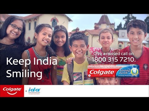 Colgate Oral Health Month 2017 - #KeepIndiaSmiling (Hin)