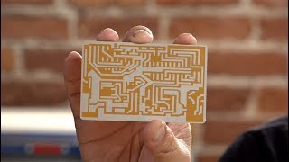 Laser Cutting a Westworld Data Card!