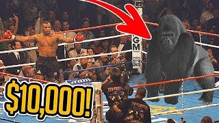Mike Tyson Wants to Fight a Gorilla for $10,000...