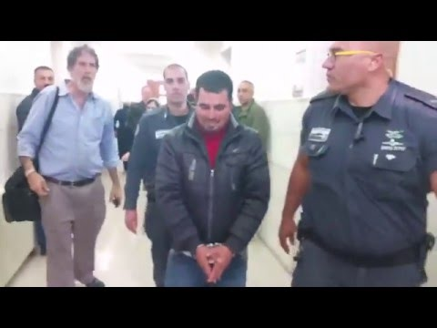 Israeli anti-occupation activist in court: 'This is a political arrest'