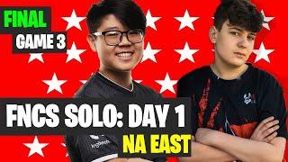 Fortnite FNCS SOLOS NA East Game 3 Highlights