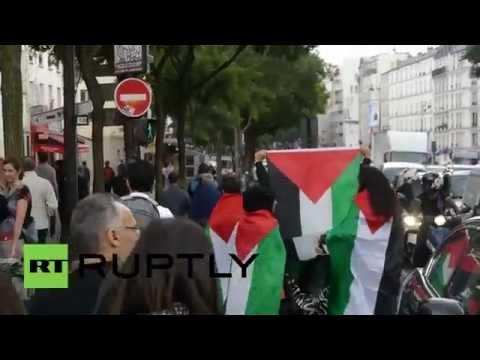 France: Clashes erupt in Pro-Palestine Paris demo