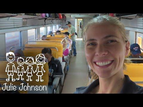 Train from Yogyakarta to Jakarta Indonesia