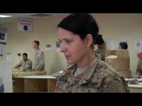 U.S. Army Post Office on Bagram Airfield (HD)