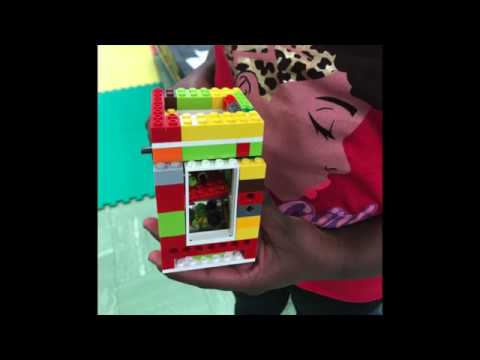LEGO Candy Dispenser Designs