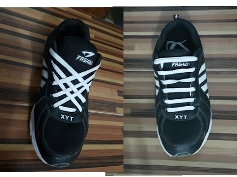 2762be076 5 طرق لربط الحذاء - YouTube