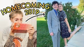junior year homecoming 2019: get ready with me + VLOG