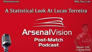 Arsenal Vision Post Match Podcast - EP220 - A Statistical Look At Lucas Torreira