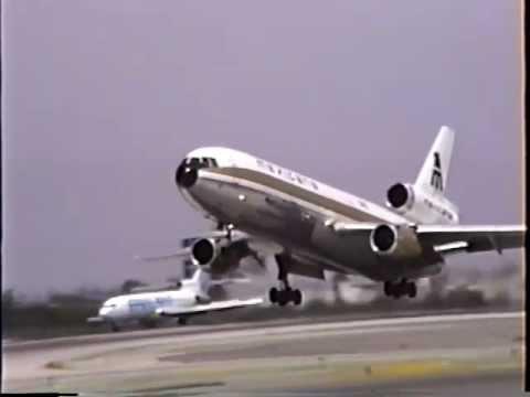 Rare Mexicana McDonnell Douglas DC-10-15 Departing LAX