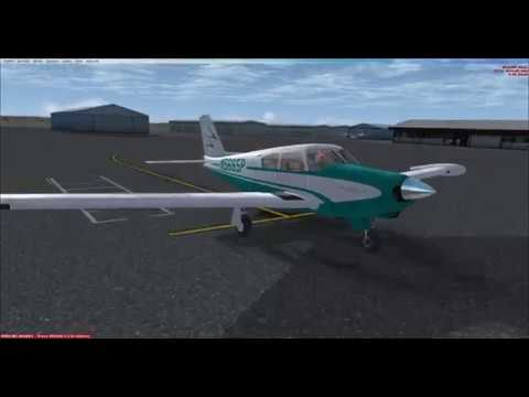 Piper PA24-250 Comanche by:  (A2A) with GTN750 installed.