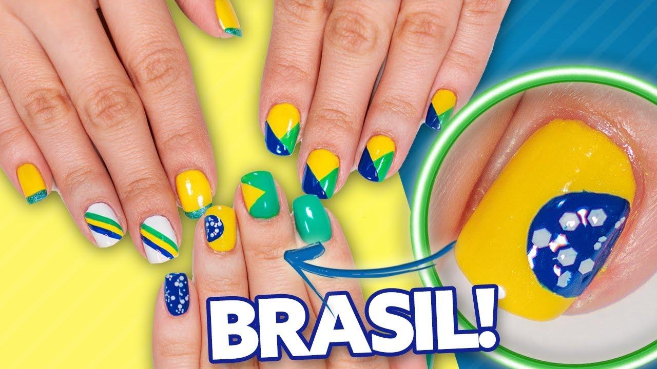 UNHAS DECORADAS PARA A COPA DO MUNDO 2018 BRASIL