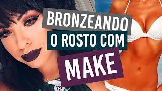 COMO PREPARAR A PELE ESTANDO BRONZEADA (O)??? - Por Nathália Nogueira