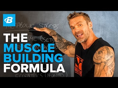 Formula For Building Muscle   Resistance Band Training W/ James Grage