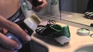 Tutorial:Come mantenere e curare le vostre scarpe da calcio in pelle ITA