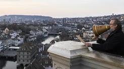Coronakrise: Grossmünster-Pfarrer erteilt Segen - Zürich - Schweiz Corona - Coronavirus