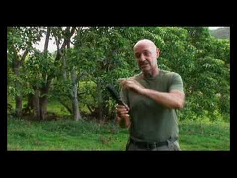 Lost: Terry O'Quinn Throwing From Handle