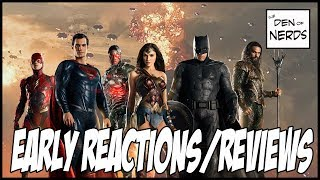 Justice League Reviews & Early Reactions: Step in the Right Direction for DCEU?