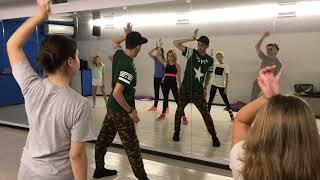 Видео урок дэнсхолл (Dancehall)