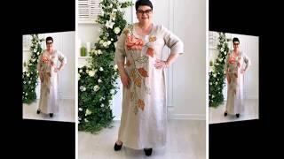 Платья для полных  на праздник - симпатичные модели