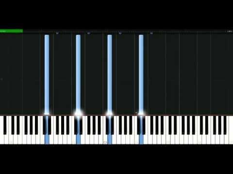 Faithless - Insomnia [Piano Tutorial] Synthesia | passkeypiano