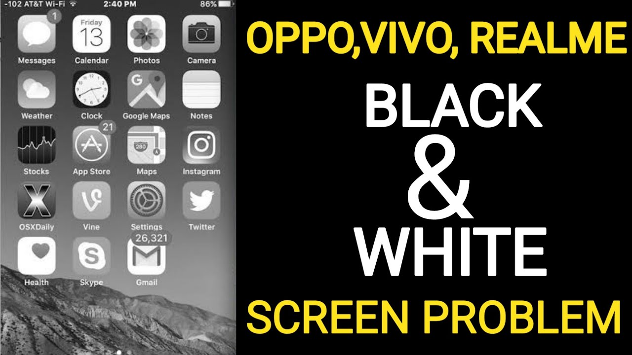 Download Oppo A5 2020 Black Screen Solution |Oppo Black and white  screen solution |oppo , Vivo, Realme All