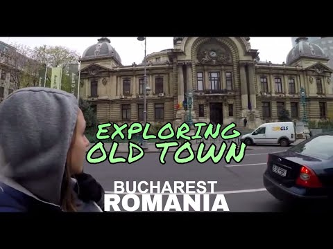 Exploring BUCHAREST OLD TOWN, Post Office Palace and OLDEST BANK //  103