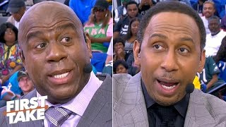 Magic Johnson and Stephen A give advice to HBCU students  First Take