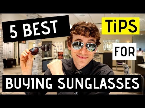 5 Best Tips for Buying Sunglasses