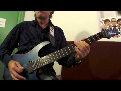 HOW TO PLAY GUITAR - TUTORIAL: Heavy Samba - Cesareo - Elio e le Storie Tese