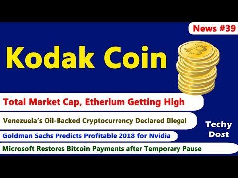 Kadak Coin - Kodak's Own CryptoCurrency, Total Market Cap, Goldman sachs prediction