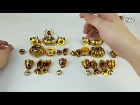 [Review] Aldebaran Taurus Saint Seiya Myth Cloth EX S-Temple METAL CLUB