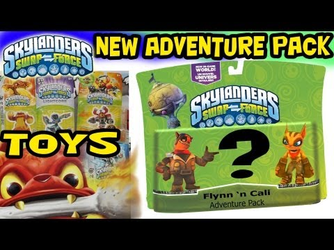 SwapForce Adventure Packs / Playsets / Toys & more (Hands-On E3 Footage) (Skylanders)