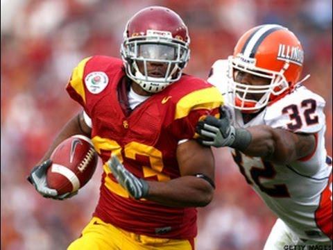 2008 Rose Bowl  #13 Illinois (9-3) vs #6 USC (10-2) 1st half