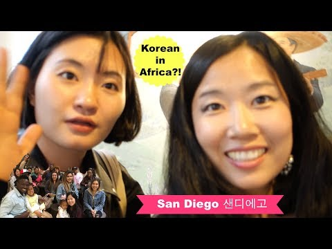 KOREAN GIRL WENT TO AFRICA!? | MEETING SPECIAL PEOPLE | San Diego Family Vlog ep. 112 ft. Wonji Lee