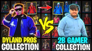 Dyland Pros Abishek🔥 vs Noob 2B Gamer😡 Collection Verus ||Who Won???||Garena Freefire