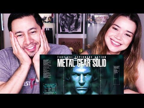 METAL GEAR SOLID 1998 INTRO - REMAKE 2018   Fan Film   Reaction!