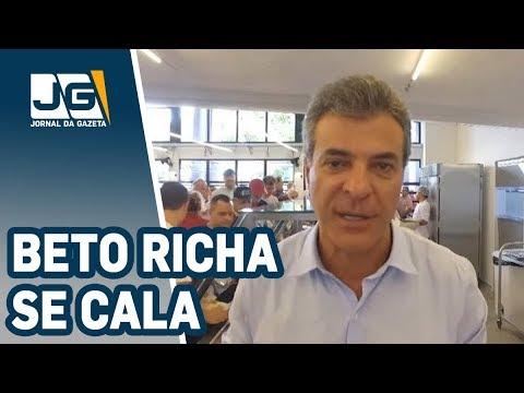 Beto Richa se cala; empresário confirma propina